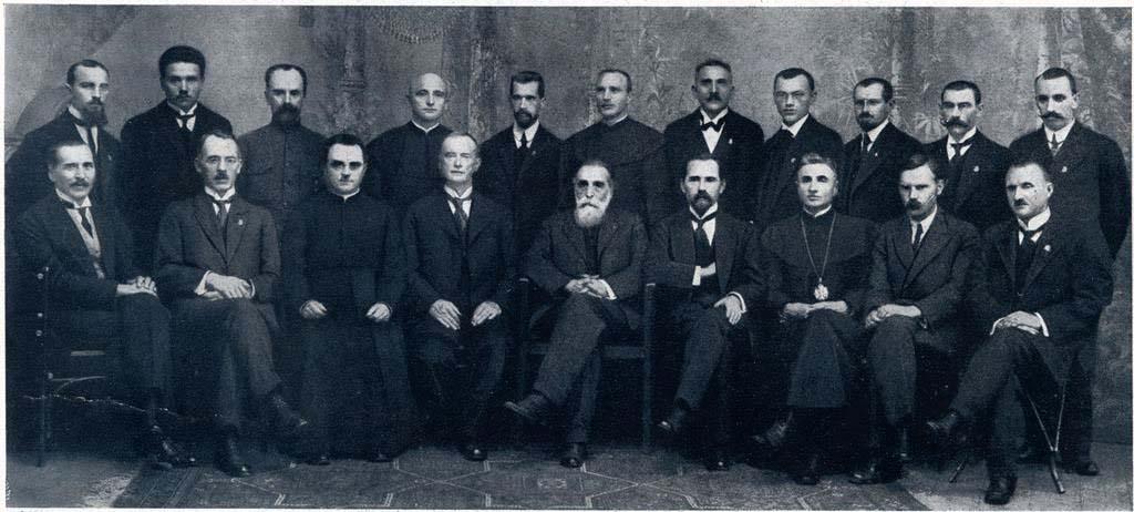 1918_Nepriklausomybes_akto_pasirasymas