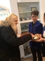 Licėjaus gimnazistai (Jasuose, Rumunija) sutinka tarptautinio projekto VR@School dalyvius