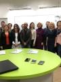 Projekto VR@School dalyviai iš keturių šalių (Portugalijos, Italijos, Rumunijos ir Lietuvos)