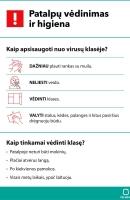 Informacija dėl naujojo koronaviruso