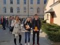 XIX Nacionalinio mokinių Č. Kudabos geografijos konkurso dalyviai