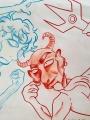 Patirti įspūdžiai ir vizualizuotos fantazijos perskaičius kūrinį