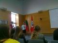 Susitikimas su ministru Linu Linkevičium